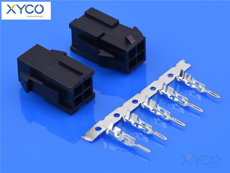 3.0mm间距连接器 43020/43031母端
