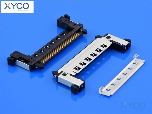 0.5mm间距连接器 FI-RE焊接式