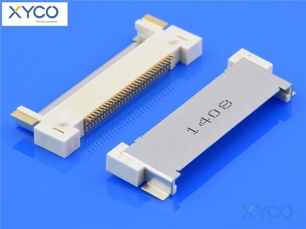 0.5mm间距连接器 20410针座