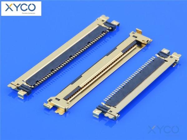 0.5mm间距连接器 20454针座