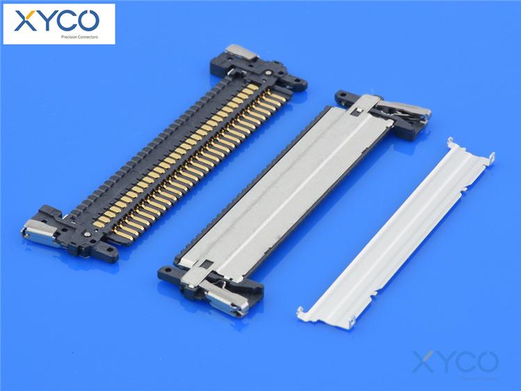 1.0mm间距连接器 fi-x焊接式