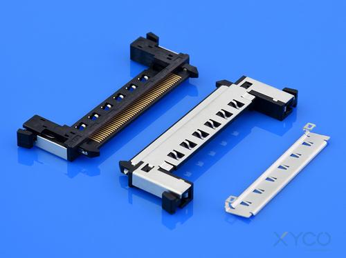 lvds连接器 fi-re焊接式