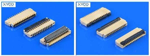 0.3mm间距fpc连接器