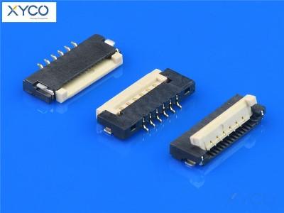 1.0mm 掀盖式H1.5 fpc连接器