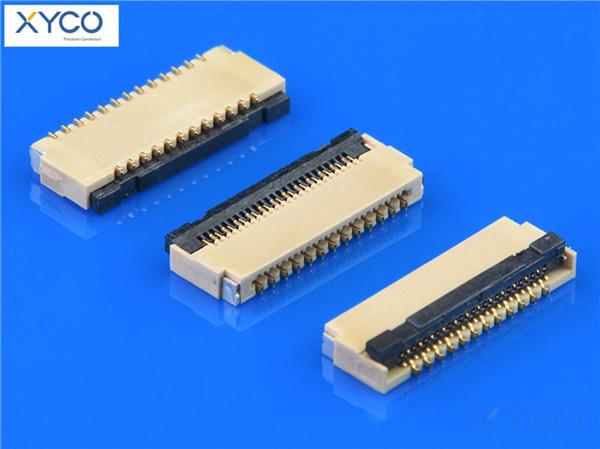 0.3线对板连接器