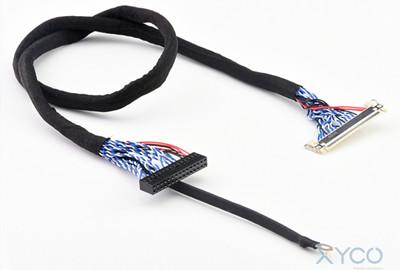 """选择Lvds屏线连接器,安全稳定的品质就认准""""它""""了!「轩业」"""
