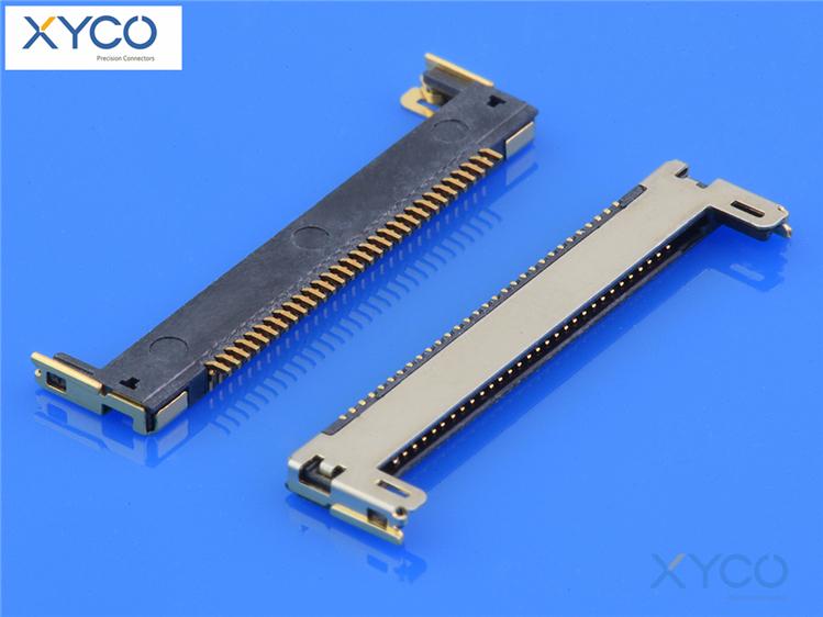 0.4mm间距连接器20346针座