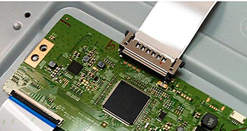 液晶屏连接器接口匹配兼容性强