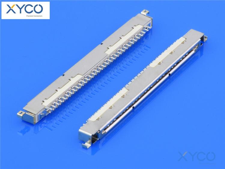 1.0mm间距连接器 fi-x针座