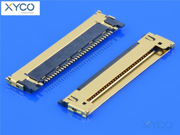 0.4mm间距连接器20473针座